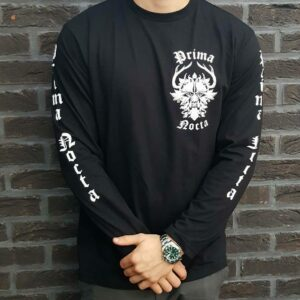 Prima Nocta Long Sleeve Black With Logo