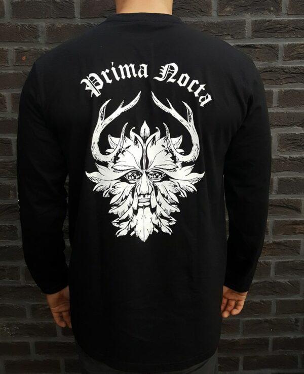 Prima Nocta Long Sleeve Black With Logo - Back